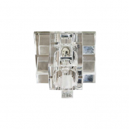 Светильник точечный Feron  1525 G9 20W прозрачный