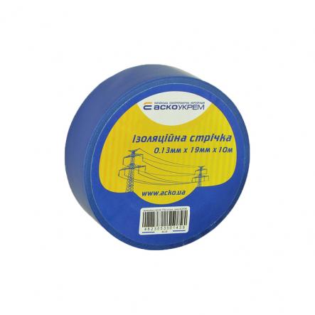 Изолента 0,13мм*19мм 10м синяя АСКО - 1