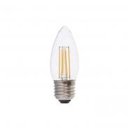 Лампа светодиодная  LB-68 dimm C37 230V 4W 400Lm E14 4000K (диммер) Feron