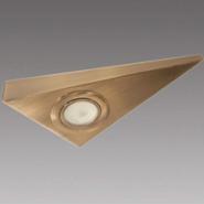 Светильник мебельный Brilux М-141 античная латунь