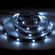 Светодиодная лента Feron LS606/LED-RL 30SMD(5050)/m 7,2W/m 12V 5m*8*0.22mm белый на белом