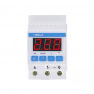 Терморегулятор TESSLA  на DIN-рейку для котлов 32 А, 7кВТ DTK