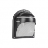 Светильник НПП 2501настенный черный-ресничка 60 Вт металлический корпус IP54