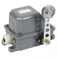 Выключатель концевой КУ-701 У1, рычаг с роликом, 10А, IP44, 2 эл. цепи IEK