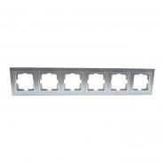 Рамка 6-я , Mono Electric, DESPINA (серебро)