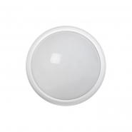 Светильник светодиодный ДПО 3030 12Вт 4500K IP54 круг белый пластик IEK