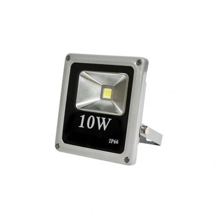 Прожектор 1LED/10W-белый 230V серый (IP66) 114*133*88 - 1