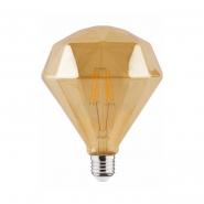 Лампа Filament Діамант 6W Е27 2200К/50
