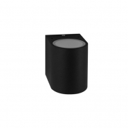 Светильник настенный DH014 230V без лампы MR16/GU10,  81*92*92 черный