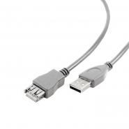 Удлинитель USB2.0, A-папа/А-мама, 3 м, премиум