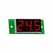 Вольтметр цифровой ВМ-19/1 (0,0....99,9В), питание 7-15В DC без корпуса V-protektor