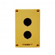 Корпус поста управления HJ-2-2 (HJ-9-2)желтый Аско-Укрем