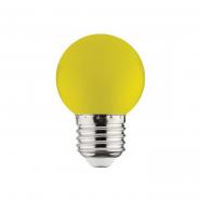 Лампа LED 1W E27 желтая 10/250 HOROZ