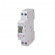 Диф. автомат.выкл. KZS-1M C 10/0,03 тип A (6kA) (нижн. подключ.) ETI 2175222