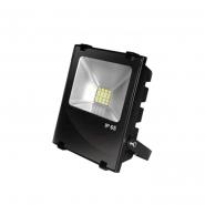 Прожектор EUROELECTRIC LED SMD Чорний з радіатором 10W 6500K (20) снято с пр-ва