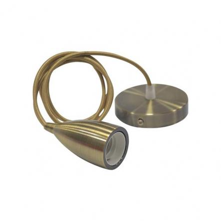 Подвес метал Е27 бронза 40 HOROZ - 1