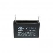 Конденсатор для запуска СВВ-61 1мкФ 450B VAC  37x11x22 на клеммах