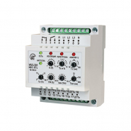 Универсальный блок защиты асинхронных электродвигателей Новатек-Электро УБЗ-301 ток 5-50А