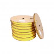 Трубка термоусадочная ТТУ 16/8 желтая 100 м.рул ИЕК