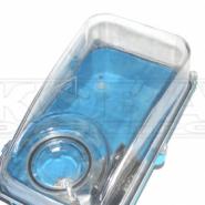 Щит 1-фазный 3 модуля  герметичный прозрачная крышка