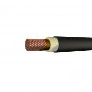 Провод для подвижного состава с резиновой изоляцией, в холодостойкой оболочке из ПВХ пластиката ППСРВМ-1500 1х185