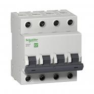 Автоматический выключатель EZ9  4Р 50А  С
