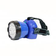 Фонарь HOROZ налобный 0,7W 35Lm LED 400mAh синий