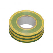 Изолента 0,13х15 мм ж-зел. 20м ИЕК