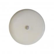 Светильник LED с фотореле 20W IP20 4000К 1650Лм 195*38mm с датчиком движнения  круг белый