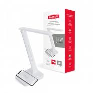 Настольная лампа MAXUS DL 13W 4100K WH Wireless charger