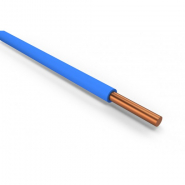 Провод установочный с медной жилой однопроволочный ПВ-1 6,0