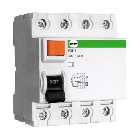 Реле защитного отключения Промфактор РЗВ-4(П) 4п 80/0,1 - 1