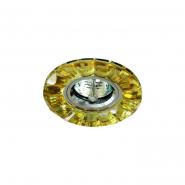 Светильник точечный MR-16 G5.3 50W желтый/хром