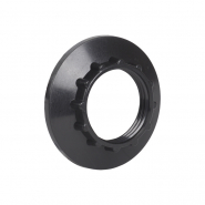 Кольцо к патрону, пластик, Е14, черный, индивидуальный пакет, IEK