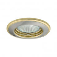 Светильник  точечный  Kanlux  2820  HORN CTC-3114-SN/G матовый никель/золотой