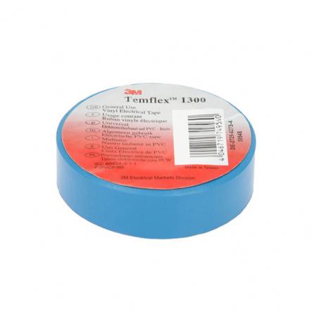 Изолента Temflex 1300 Лента 19mm x 20m голубая 3M - 1
