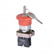 Кнопка безопасности возврат ключом ХВ2-BS142 АСКО-УКРЕМ