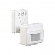 Датчик движения IEK ДД 017 белый 1100 Вт радиус 120град.,12м IP44 арт. LDD13-017-1100-001