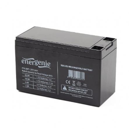 Аккумуляторная батарея EnerGenie BAT-12V7.5AH 12B 7.5Ач - 1