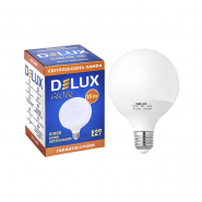Лампа лед. DELUX Globe G95 15w E27 4100K