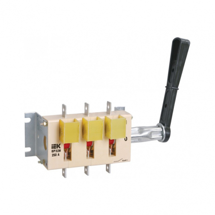 Выключатель-разъединитель ВР32И-35B71250 250А на 2 напр. съем.рук. ИЭК - 1