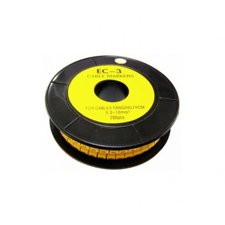 """кабельн. маркир ЕС-3 5,2-10 кв.мм символ """"4"""" АСКО - 1"""