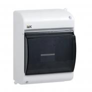 Корпус пластиковый КМПн 2/4 IP30 белый IEK
