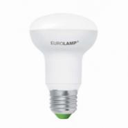 Лампа R63 9W E27 3000K LED EUROLAMP EKO серия D (50)(ГАРАНТИЯ 3 ГОДА) ШКП