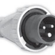 Вилка IVG (IP 67), 32A, 400V 4n SEZ