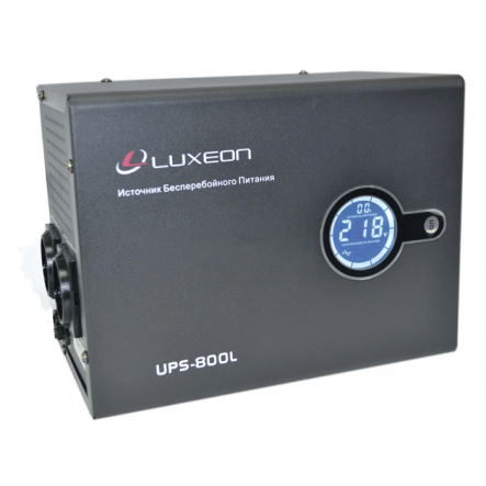 Источник бесперебойного питания UPS 800 L правильная синусоида внешняя батарея - 1