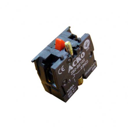 Блок-контакт ZВ2-ВЕ102 N/C для кнопок АСКО-УКРЕМ - 1