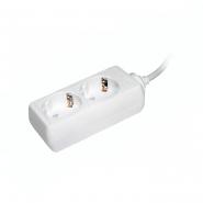 Удлинитель ИЕК  У02    2гн/5метра  2P+PE  3*1мм 16A