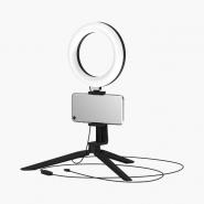 Светильник кольцевой для селфи с комплект.крепл.Ø 16см