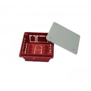 Коробка распределительная внутренняя 92*92*45 IP 40 с крышкой